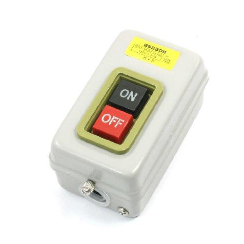 Preisvergleich Produktbild sourcing map 380V 7.5kW AN/AUS Taste 2 Rast 3-polig Leistung Taster Schalter
