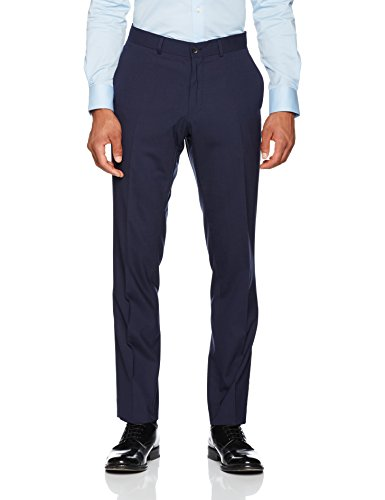 ESPRIT Collection Herren Anzughose 996EO2B907, Blau (Navy 400), 106