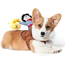 qganylO - Disfraz de Perro, Cachorro, Gato, Camiseta, Ropa de Camisa |
