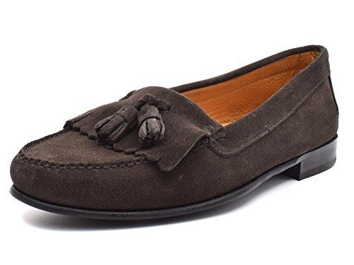 G&P cobbler - Craftsman Mocassin Frange et Glands Brun