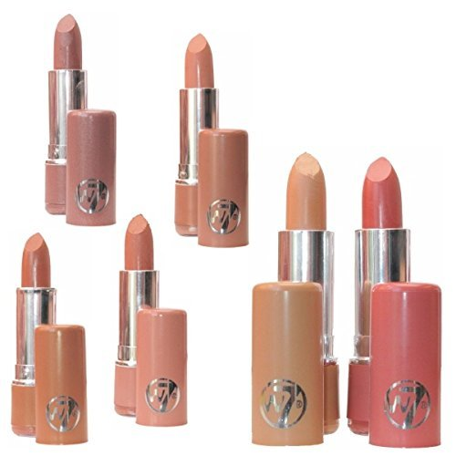 Set Of Six W7 W.Seven Lipsticks - The Nudes RRP �24