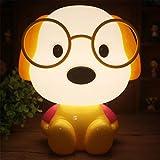 #5: Nyrwana Plastic Dr. Dog Cartoon Led Desk Table Lamp for Living-Room, Bedroom, Children Study Room, 220V