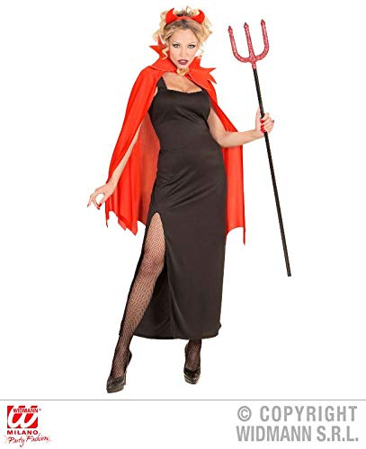 WIDMANN wdm07183–Kostüm Devil, schwarz, Large