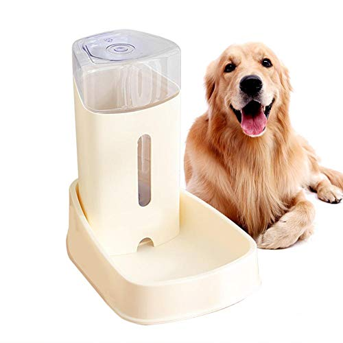 soundwinds Automatischer Trinkbrunnen für Haustiere 3.8L Pet Trinkwasserbrunnen Große Kapazität Wasserspender für Katzen und kleine Hunde Gefiltertes Wasser