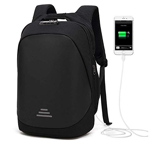 42b239809a00d Anti theft Bags 15.6 Inch Laptop Backpacks with USB Charging Port  Waterproof Outdoor Lightweight Travel Laptop