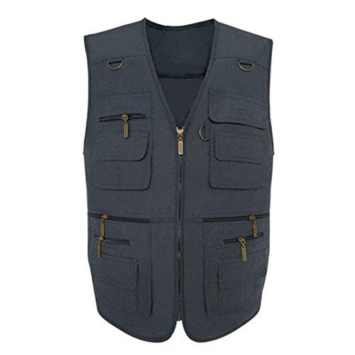 DYLBD Cowboy Weste von Mittlerem Alter Mannes Vaters Vest,H-XL (Alten Westen, Cowboys)