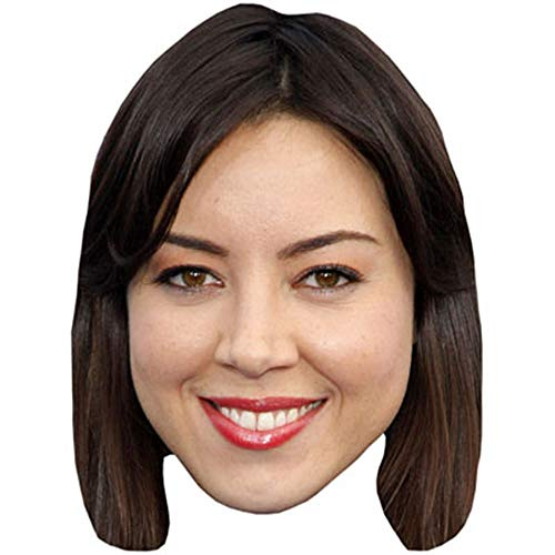 Celebrity Cutouts Aubrey Plaza Big Head.