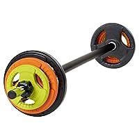 Mirafit 20kg Studio Pump Set - For Aerobic Weights Exercise