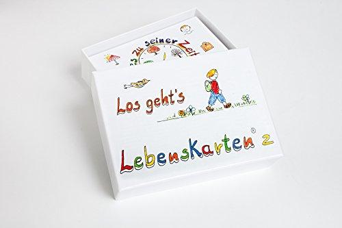 Lebenskarten 2 von Barbara Völkner (72 Karten, Visitenkarten Format: 5,5x8,5cm)