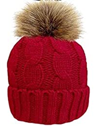 Thinsulate Ladies Hat Bobble Pom Pom Different Colours Winter Warm Pom Pom Women