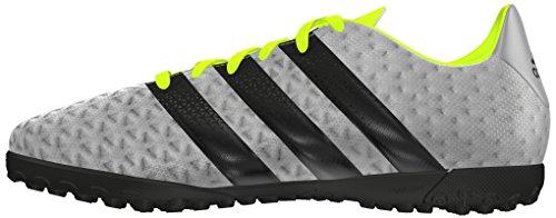 adidas Ace 16.4 Tf J, Chaussures de Football Garçon Plata (Plamet / Negbas / Amasol)