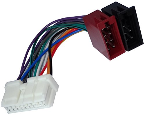 Aerzetix - ISO-Konverter - Adapter - Kabel Radioadapter Radio Kabel Stecker ISO-Kabel Verbindungskabel (Nissan Xtrail 2002 Zubehör)
