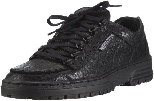 Mephisto Schuhe (Mephisto CRUISER MAMOUTH 714  Herren Derby Schnürhalbschuhe, Schwarz (BLACK MAMOUTH 714), 44)