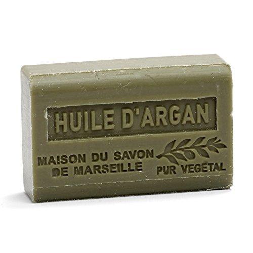 Huile d\'Argan Savon avec Beurre de Karité 125 g – Maison du Savon de Marseille