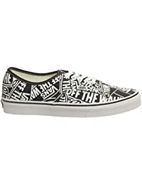 d0a57f2d122df Vans Authentic Otw Repeat Nero Bianco Sneaker