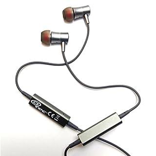 @tec  Sport Bluetooth Magnet Kopfhörer, In-Ear mit Multi-Point Verbindung für 2 Handy gleichzeitig, intelligente Magnet Start/Stop Funktion, Freisprechfunktion inkl. InEar-Haltebügel, Ohrpassstücke