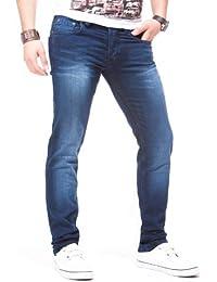 LEIF NELSON Herren Jeans Jeanshose LN1075B
