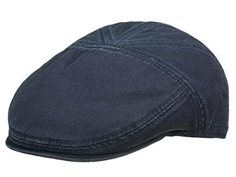 Stetson Paradise Flatcap Schirmmütze aus Baumwolle - dunkelblau/2
