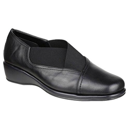 The Flexx-enormi onde in pelle donna scarpe Nero enormi onde in pelle scarpe, nero (Black), 42