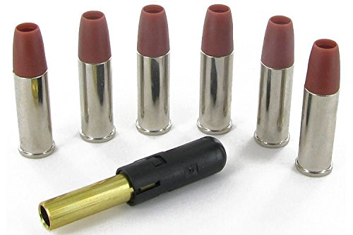 """Umarex Douilles 6mm Python 357 Magnum + Canon supplementaire 2.5"""" (x6) Adulte Unisexe, Laiton, Taille Unique"""
