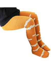 Sannysis bebé rodilleras protector calcetines niños medias de algodón