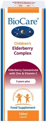Biocare 150ml Children's Elderberry Complex Test