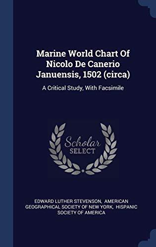 Marine World Chart of Nicolo De Canerio Marine Charts