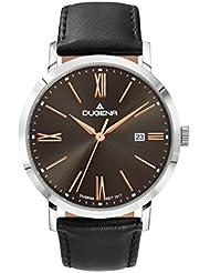 Dugena Herren-Armbanduhr Analog Quarz Leder 4460643