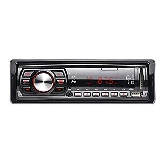 prettygood7 MP-Player Monitor 12V Autoradio Player Auto Audio Auto-Stereo FM Empfänger MP3 Fernbedienung Kartenmaschine, U-Disk-Maschine, Kartenleser