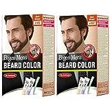 Bigen Men's Beard Colour, 20g (Dark Brown, B103) - Pack of 2