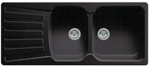 BLANCO NOVA 8S - FREGADERO (1 16M  50 CM  19 CM) ANTRACITA