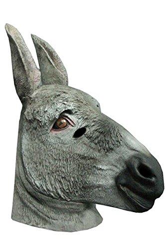 Unbekannt Generic MA1032–Esel für Erwachsene Full Latex Maske–Eine Größe