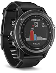Garmin - Fenix 3 Sapphire Gray Hr - Montre Gps Multisports Outdoor