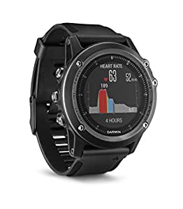 Garmin Fenix 3 Sapphire HR GPS Multisport Watch with Outdoor Navigation and Wrist Based Heart Rate