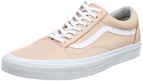 Vans Unisex-Erwachsene Old Skool Sneaker, Pink (Leather), 38 EU (Vans Schuhe Herren Pink)