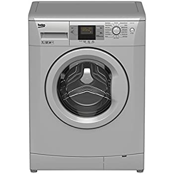 Beko Washing Machine - Freestanding - WMB71543S - Silver