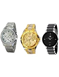 Capture Fashione multicolour Analog Watch- Pack Of 3