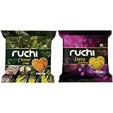 Ruchi Cookies Combo, Jeera & Coconut Cookies, 400g (Pack of 2)