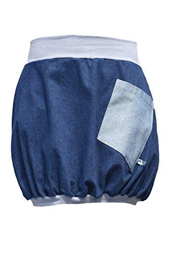 Minirock PAULIZ – blauer Damen Ballon-Minirock aus Jeans - 8