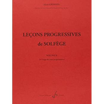 32 Lecons Progressives de Solfege Volume 2