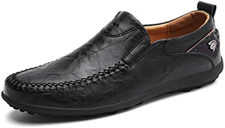 Shufang-scarpe, 2018 Uomo Mocassini Ballerine, da Uomo Casual Luce Morbida Pelle Gratuito Mocassini Traspiranti... | Numeroso Nella Varietà  | Scolaro/Ragazze Scarpa