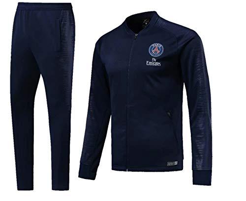 Shi18sport Club Langarm-Trikot Fußballuniform Anzug Team Spielen Wettbewerb Trainingsanzug, 1, L -