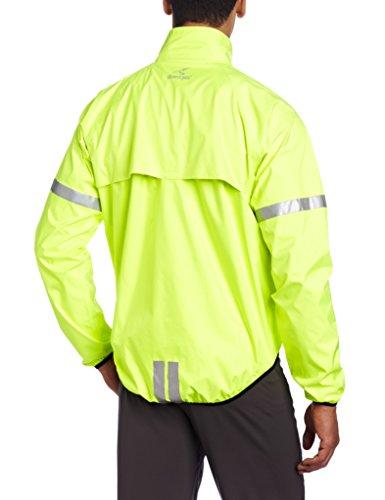 Showers Pass, Giacca catarifrangente da ciclismo Uomo Storm Giallo (Neon Yellow)