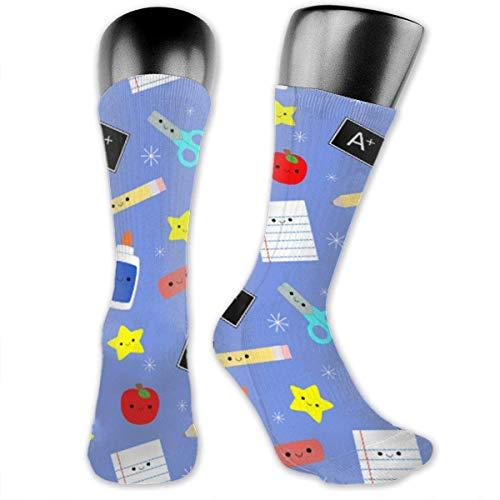 Antibacterial Study Tools Compression Elastic Socks Art Ankle Stockings Breathable Soft Comfort Casual Crew Socks red socks