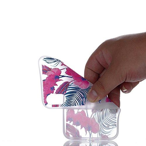 Slynmax Nottilucenti TPU Cover per iPhone X Custodia Silicone Caso Molle di Morbida Sottile Gel Transparent Bumper Case Protettiva Caso Chiaro Copertura Slim Thin Skin Shell Protezione per iPhone X So Modello #16