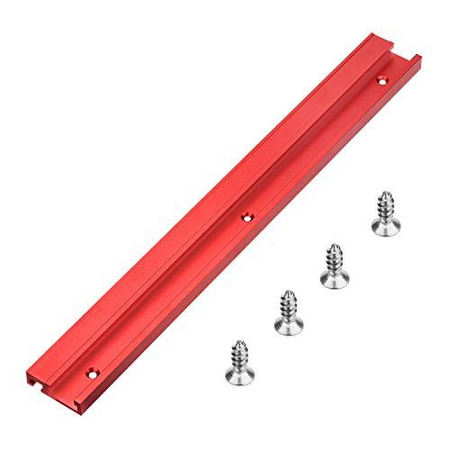 400mm 45 Tipo T-Track T-Slot in Lega di Alluminio per la Lavorazione del Legno per Table Saw per Falegname (1pcs)
