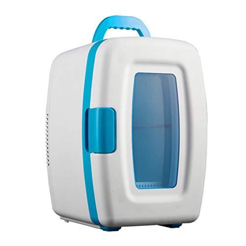 DLDL Portable électrique Cool Box 10L Voiture Réfrigérateur Top Table Mini Congélateur Mini Camping Coolbox Calme Refroidisseur Chauffe Boissons Refroidisseur Maison & Voiture