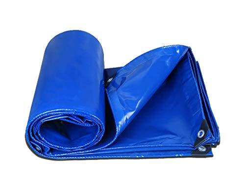 Waterproof Cloth Home Außenzelt Wasserdichte Plane Plane Dickes Campingzelt Baldachin blau - schützen Sie Ihr Zelt (Color : A, Size : 2x3M)