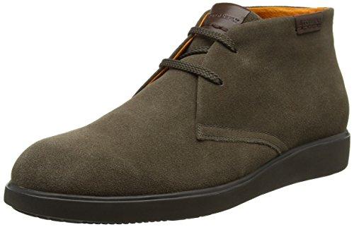 bisonte Desert Herren Boots 1a09 Velour Braun Town 6 Stonefly 4qI0I