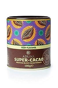 Pack Of 5: Aduna High Flavanol Super-Cacao Powder 100G Pack Of 5)